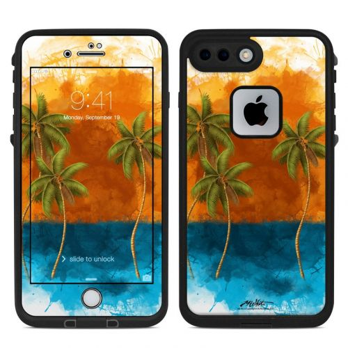 Palm Trio LifeProof iPhone 8 Plus fre Case Skin