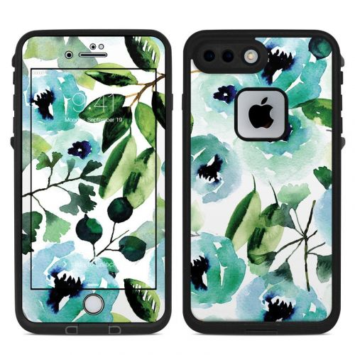 Peonies LifeProof iPhone 8 Plus fre Case Skin