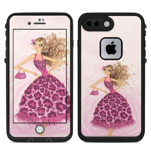 Perfectly Pink LifeProof iPhone 8 Plus fre Case Skin