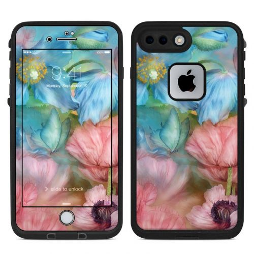 Poppy Garden LifeProof iPhone 8 Plus fre Case Skin