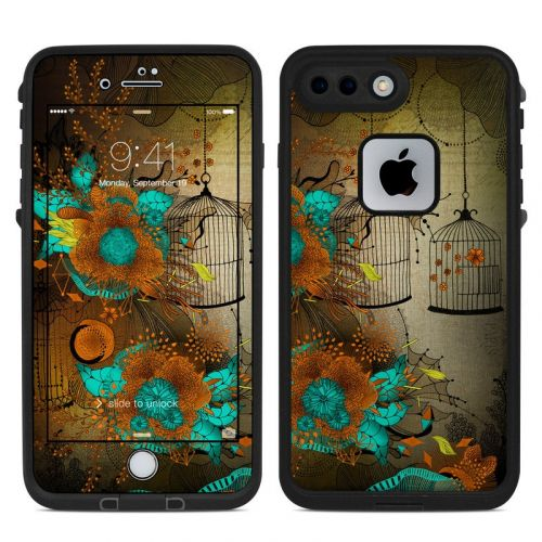 Rusty Lace LifeProof iPhone 8 Plus fre Case Skin