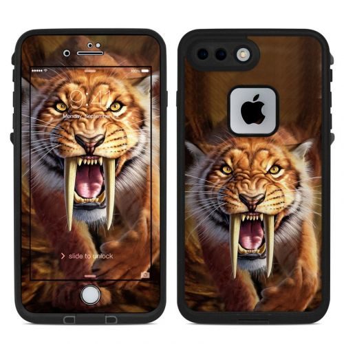 Sabertooth LifeProof iPhone 8 Plus fre Case Skin