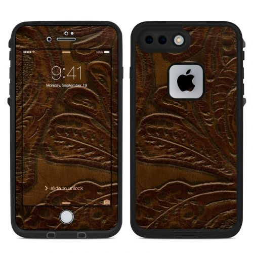 Saddle Leather LifeProof iPhone 8 Plus fre Case Skin