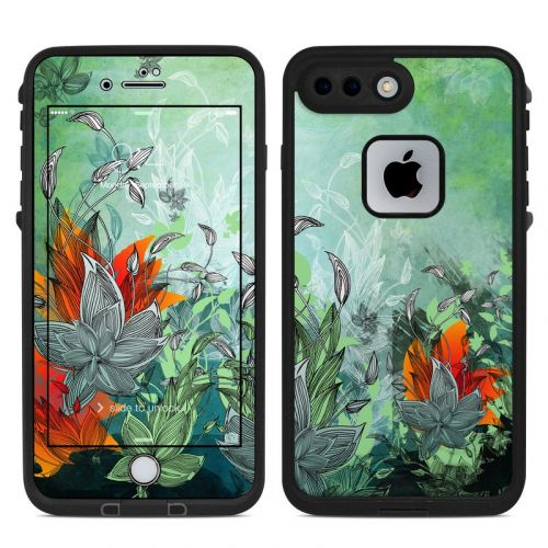 Sea Flora LifeProof iPhone 8 Plus fre Case Skin