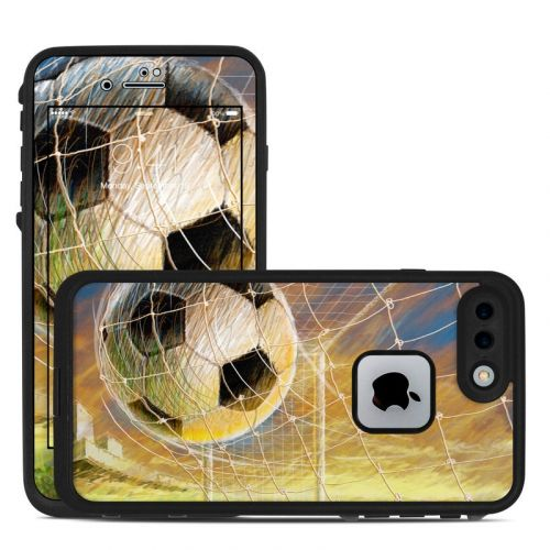 Soccer LifeProof iPhone 8 Plus fre Case Skin