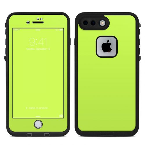Solid State Lime LifeProof iPhone 7 Plus fre Skin