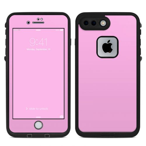 Solid State Pink LifeProof iPhone 7 Plus fre Skin