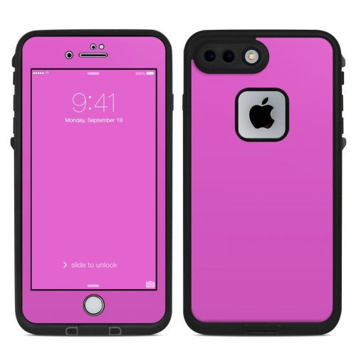 Solid State Vibrant Pink LifeProof iPhone 7 Plus fre Skin