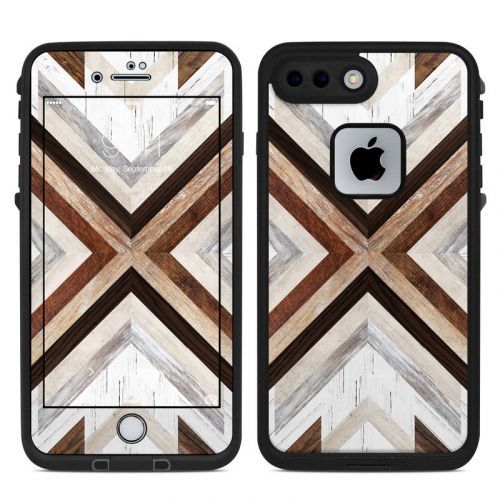 Timber LifeProof iPhone 8 Plus fre Case Skin