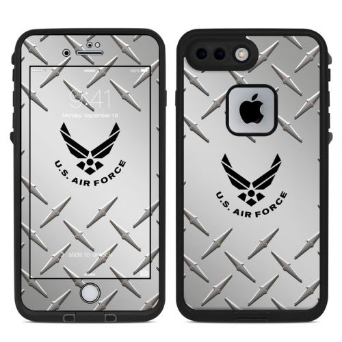 USAF Diamond Plate LifeProof iPhone 7 Plus fre Case Skin