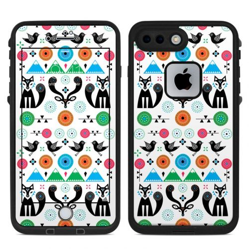 Winter Forest LifeProof iPhone 8 Plus fre Case Skin
