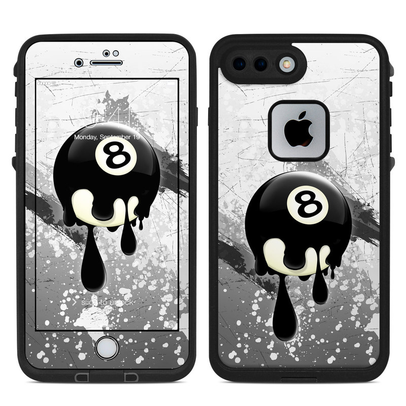 8Ball LifeProof iPhone 8 Plus fre Case Skin