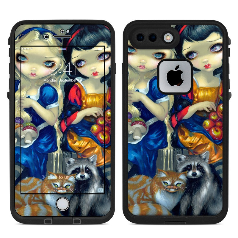 Alice & Snow White LifeProof iPhone 8 Plus fre Case Skin