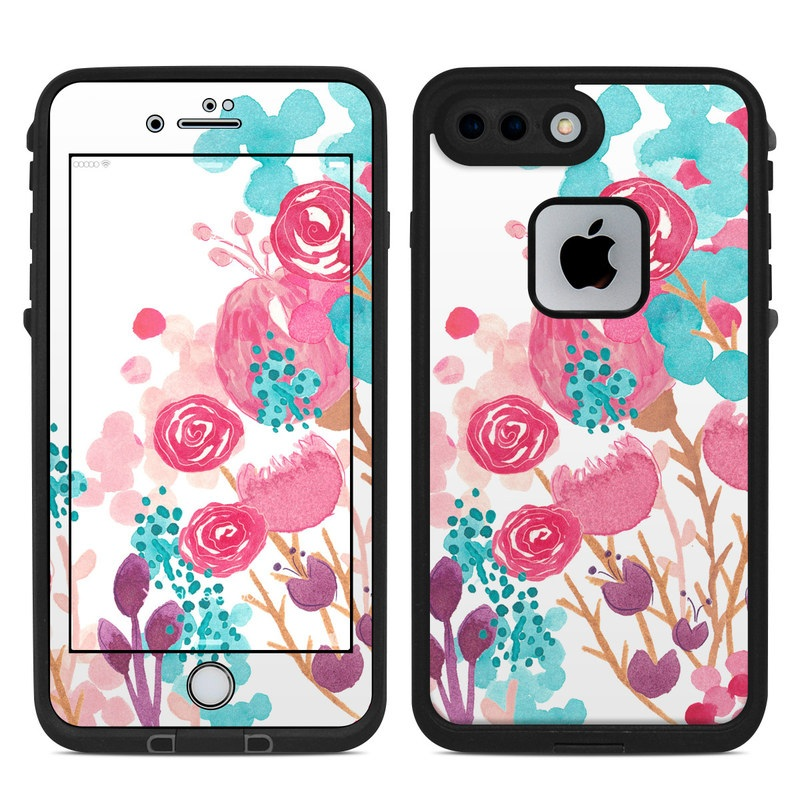 Blush Blossoms LifeProof iPhone 8 Plus fre Case Skin