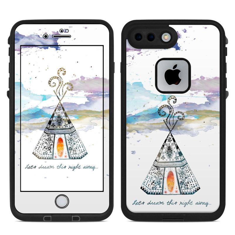 Boho Teepee LifeProof iPhone 8 Plus fre Case Skin
