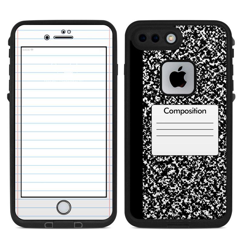 superior quality de1d2 c7e5b Composition Notebook LifeProof iPhone 8 Plus fre Case Skin