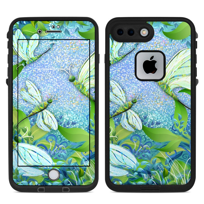 Dragonfly Fantasy LifeProof iPhone 8 Plus fre Case Skin