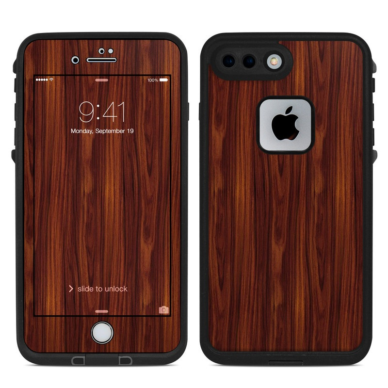 Dark Rosewood LifeProof iPhone 7 Plus fre Case Skin