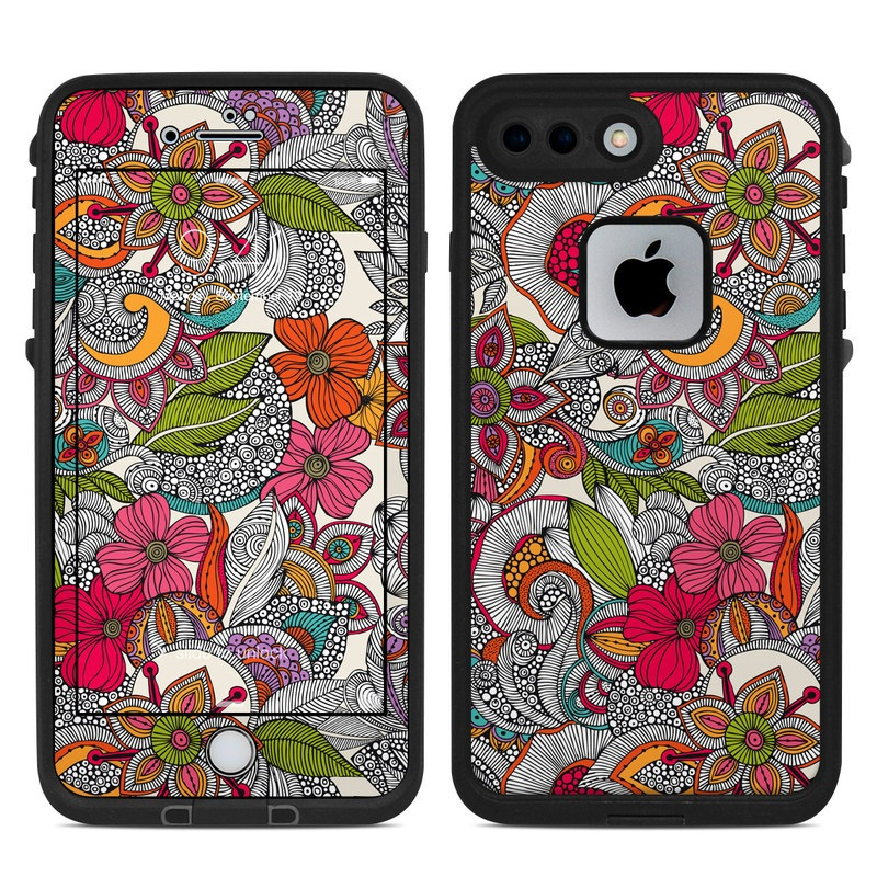 Doodles Color LifeProof iPhone 8 Plus fre Case Skin