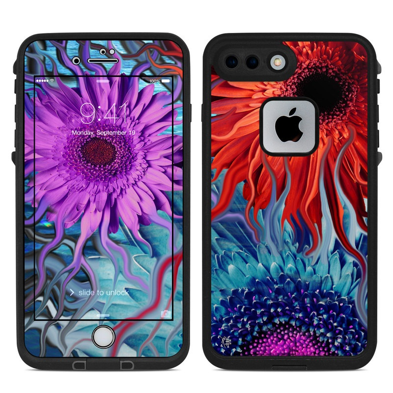 Deep Water Daisy Dance LifeProof iPhone 8 Plus fre Case Skin