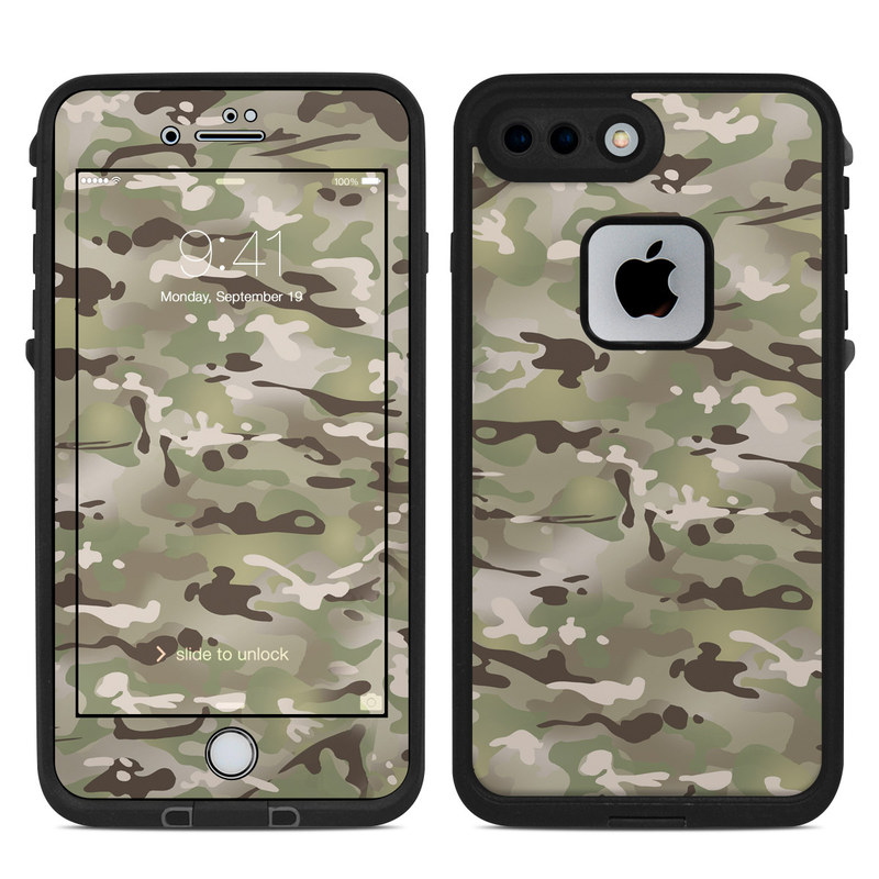 sports shoes e2123 e8571 FC Camo LifeProof iPhone 8 Plus fre Case Skin