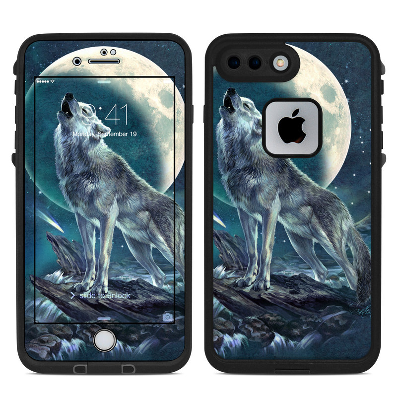 Howling Moon Soloist LifeProof iPhone 8 Plus fre Case Skin