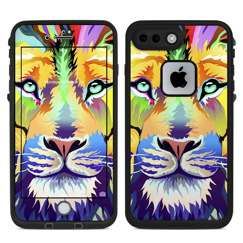 King of Technicolor LifeProof iPhone 8 Plus fre Case Skin