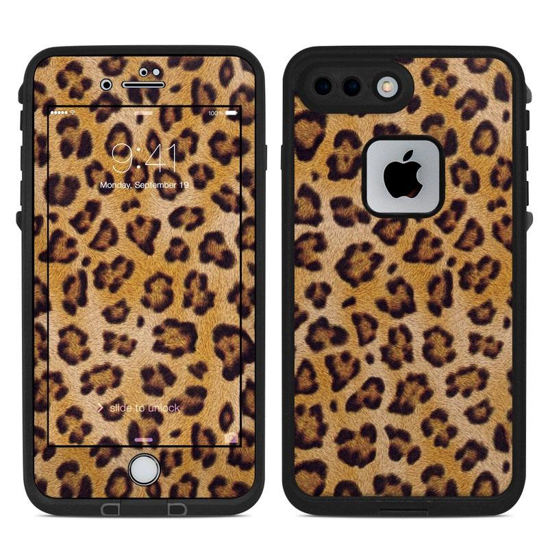 Leopard Spots LifeProof iPhone 8 Plus fre Case Skin