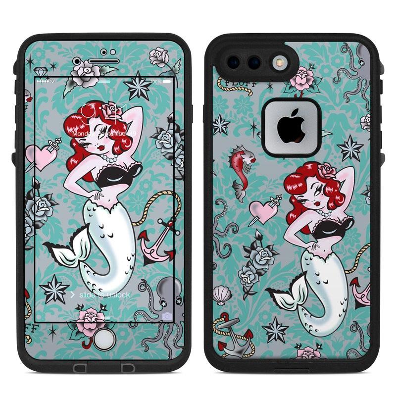 Molly Mermaid LifeProof iPhone 8 Plus fre Case Skin