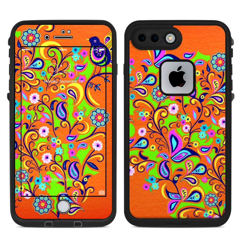 Lifeproof Iphone 8 Plus Fre Case Skin Design Of Pattern Visual Arts Art