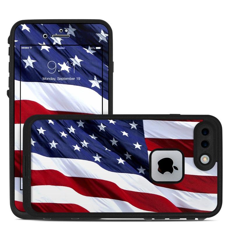 Patriotic LifeProof iPhone 7 Plus fre Case Skin