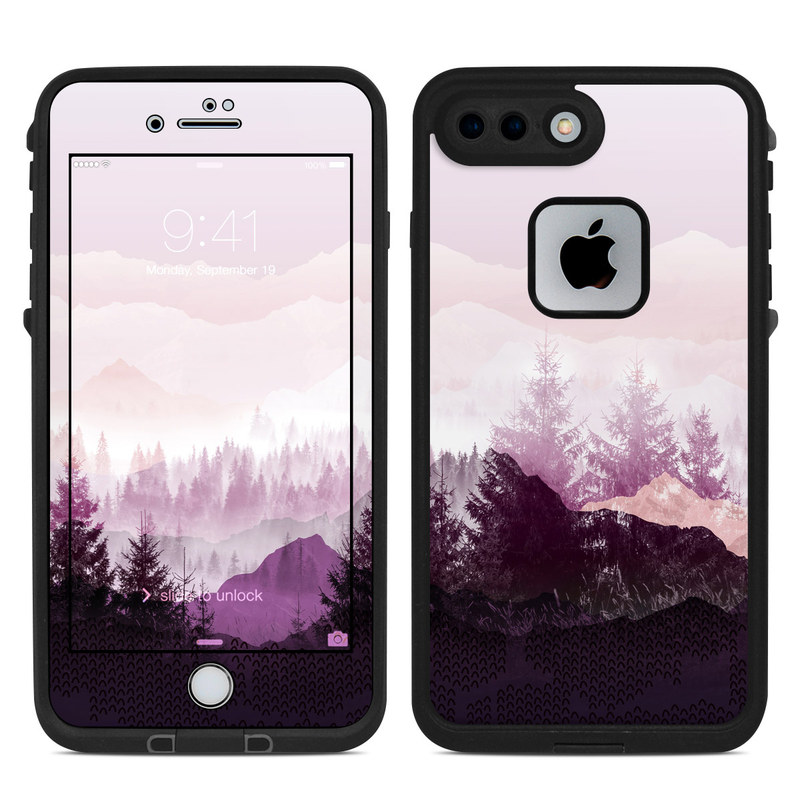best service 51c4d 91549 Purple Horizon LifeProof iPhone 8 Plus fre Case Skin