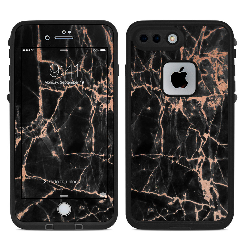 Rose Quartz Marble LifeProof iPhone 8 Plus fre Case Skin