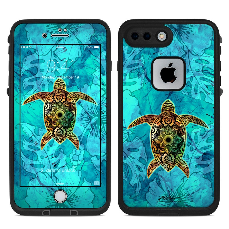 Sacred Honu LifeProof iPhone 8 Plus fre Case Skin