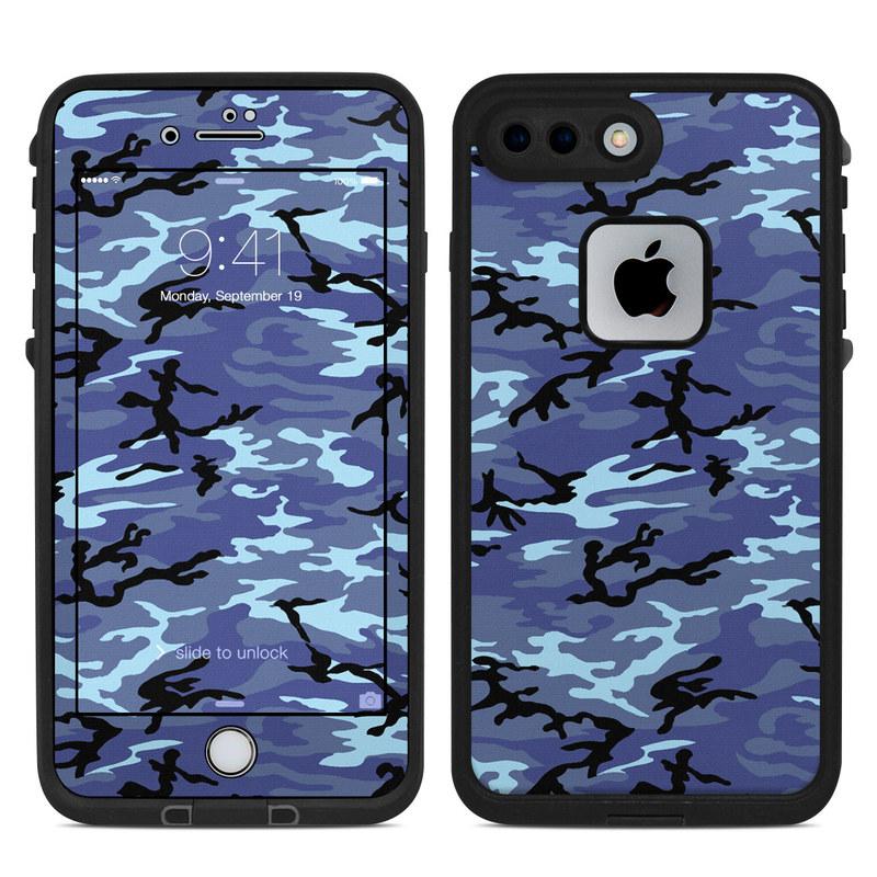 Sky Camo LifeProof iPhone 7 Plus fre Case Skin