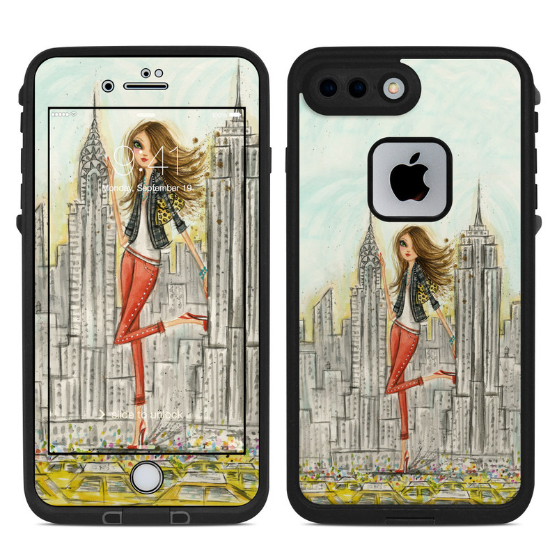 The Sights New York LifeProof iPhone 8 Plus fre Case Skin