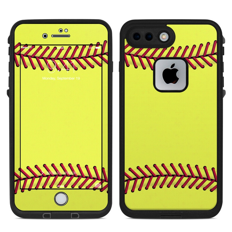 new styles 8ff5f 328aa Softball LifeProof iPhone 8 Plus fre Case Skin