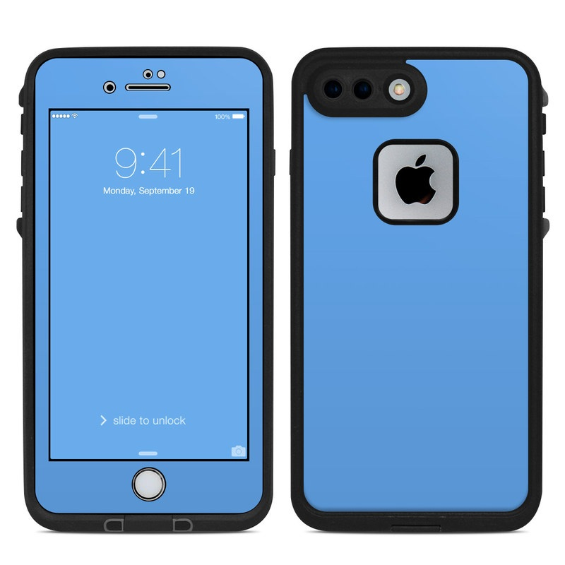 more photos f4224 d2b30 Solid State Blue LifeProof iPhone 8 Plus fre Case Skin