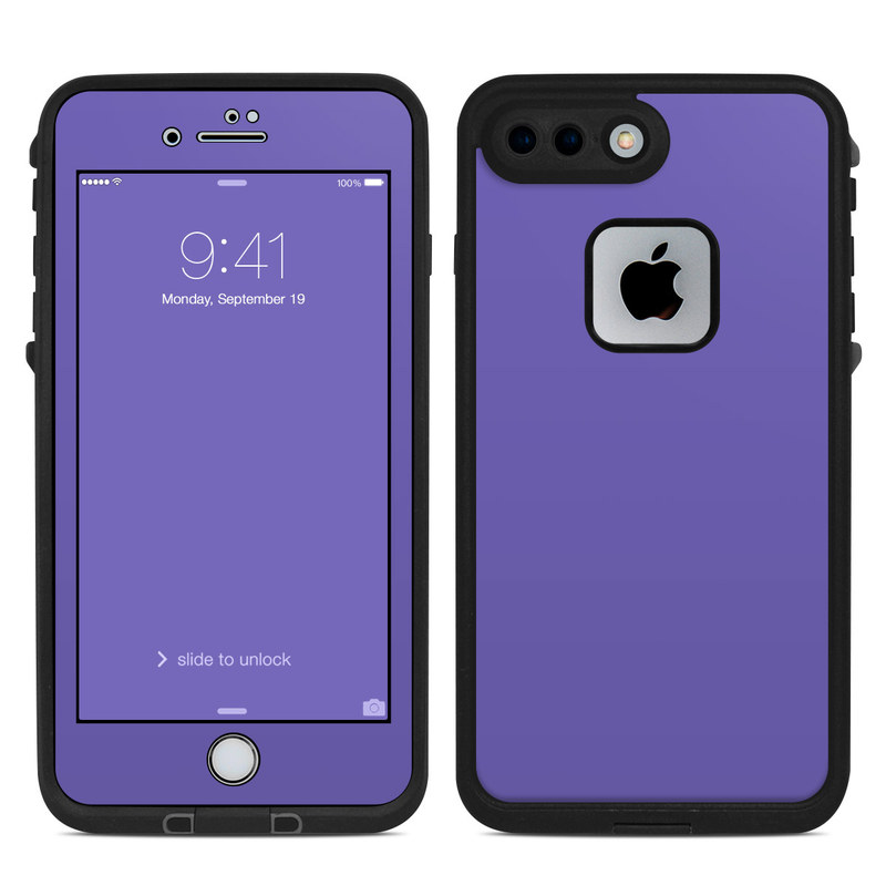 pretty nice d981b becbc Solid State Purple LifeProof iPhone 8 Plus fre Case Skin