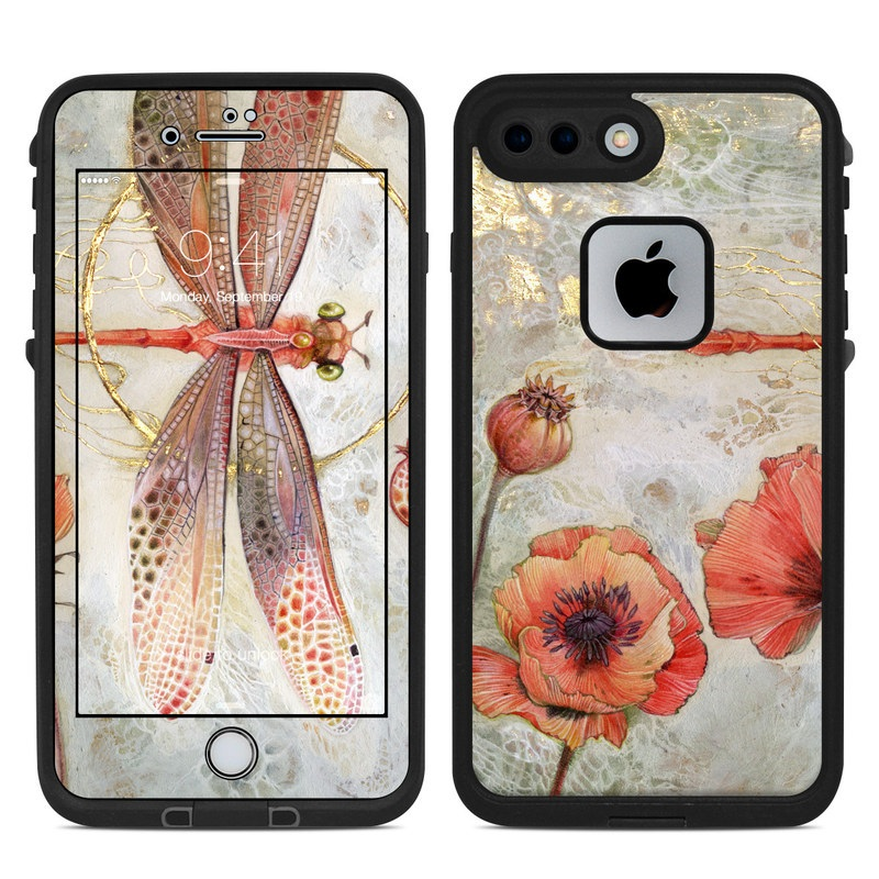 Trance LifeProof iPhone 8 Plus fre Case Skin