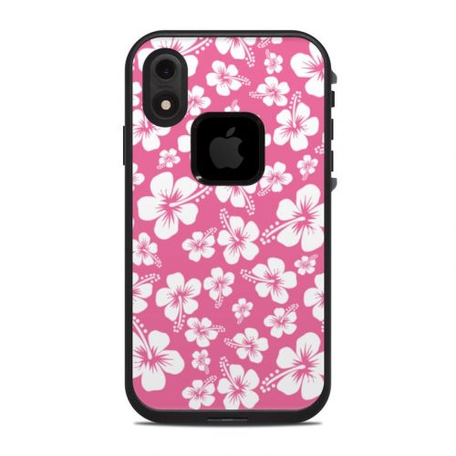 Aloha Pink LifeProof iPhone XR fre Case Skin