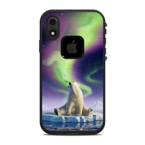 Arctic Kiss LifeProof iPhone XR fre Case Skin