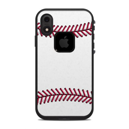 Baseball LifeProof iPhone XR fre Case Skin