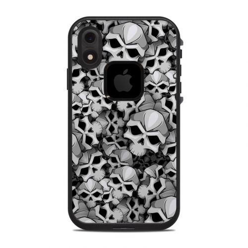 Bones LifeProof iPhone XR fre Case Skin