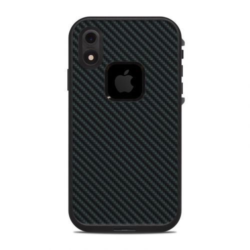 Carbon LifeProof iPhone XR fre Case Skin