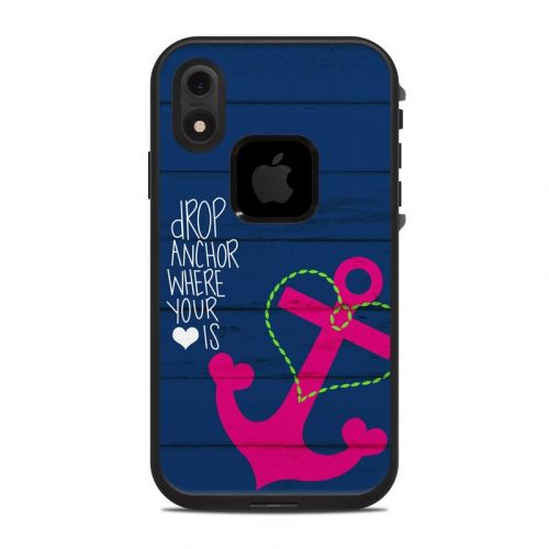 Drop Anchor LifeProof iPhone XR fre Case Skin