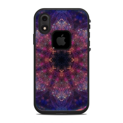 Galactic Mandala LifeProof iPhone XR fre Case Skin