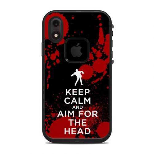 Zombie LifeProof iPhone XR fre Case Skin