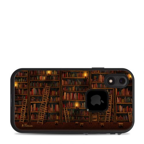 Library LifeProof iPhone XR fre Case Skin