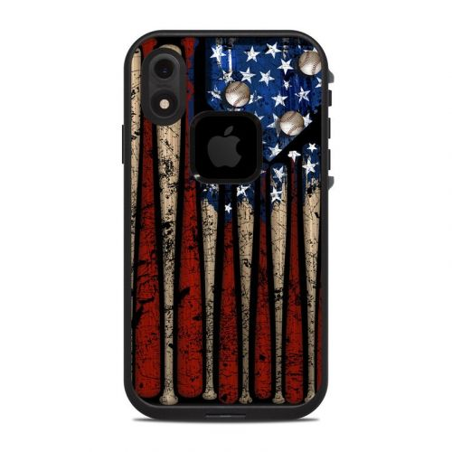 Old Glory LifeProof iPhone XR fre Case Skin